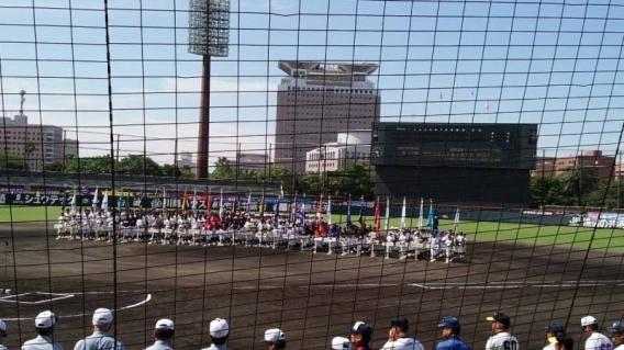 第28回夏季九州選手権南部連盟予選大会開幕